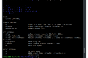 Sigurlx - A Web Application Attack Surface Mapping Tool