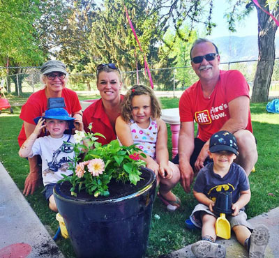 Penticton Home Hardware sponsors the OSNS Spring Garden Clean-up.