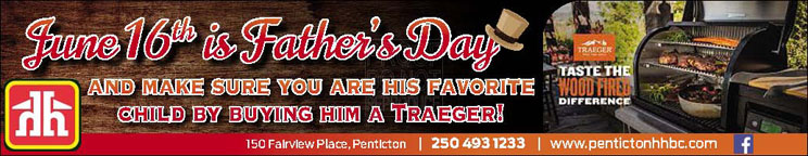 Penticton Home Hardware has the perfect Fathers Day gifts. Give dad a Traeger BBQ.