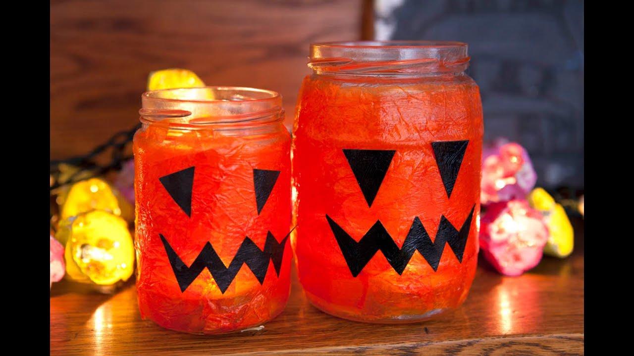 Halloween lantern crafts at Penticton Home Hardware.