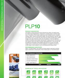 PLP10 printfolie