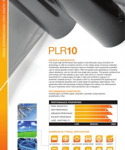 PLR10 High Performance Resin Folie