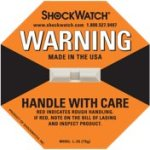 Shockwatch Etiketten