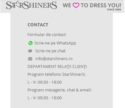 contact pentru rochii de modificat