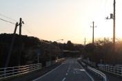 上総亀山 road out