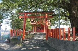 A shrine I saw on my way to the station