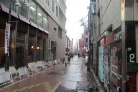 Ameyoko market. It's a bit empty atm.