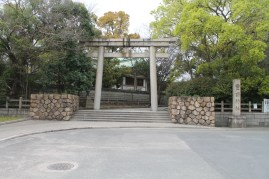 Houkoku shrine entrance