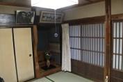 A Japanese alcove (床の間)