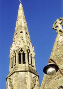 St Catwg's church. (two ancient bells)