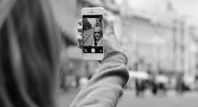 selfie dengan iphone