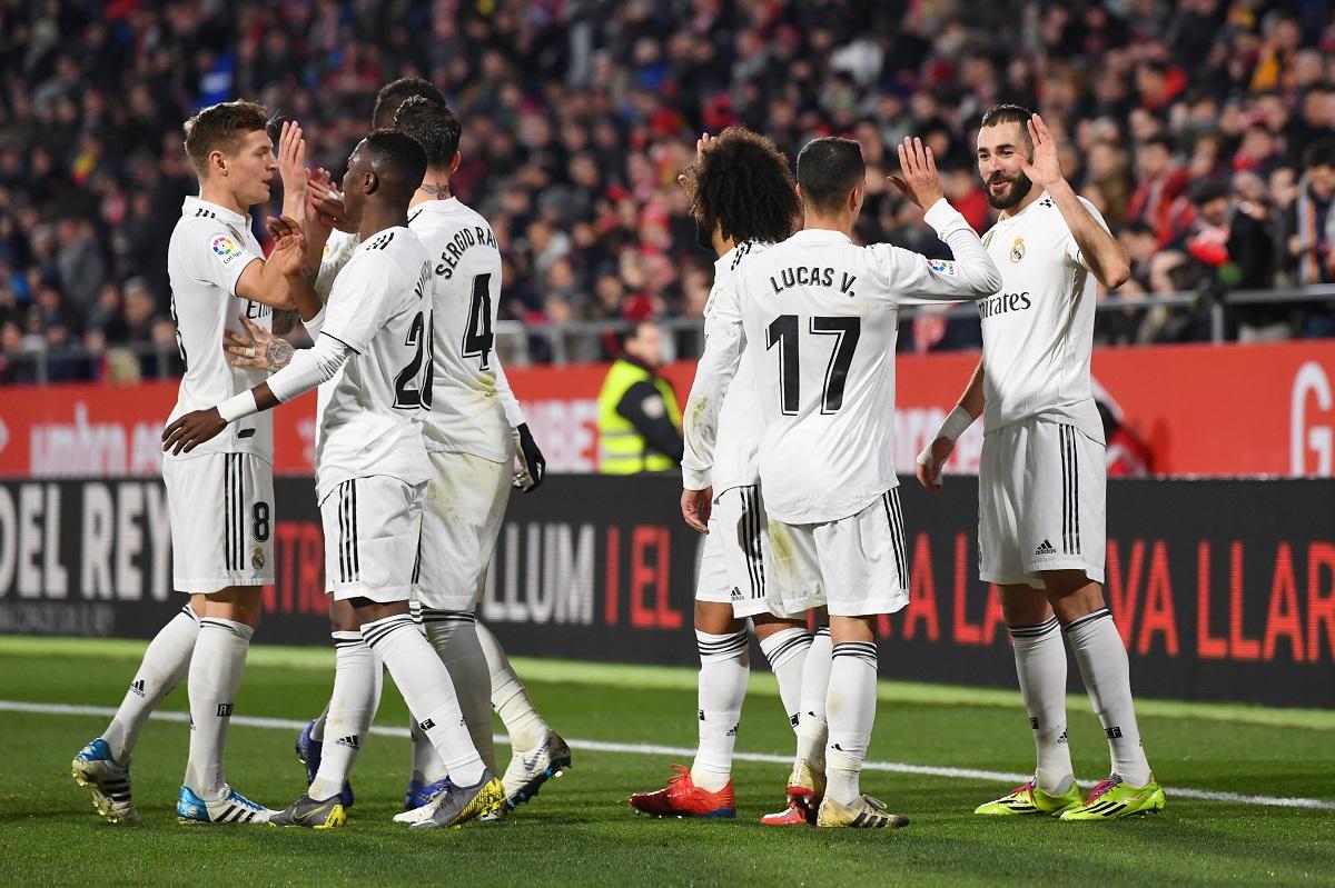 Hasil Pertandingan Girona Vs Real Madrid Skor 1-3