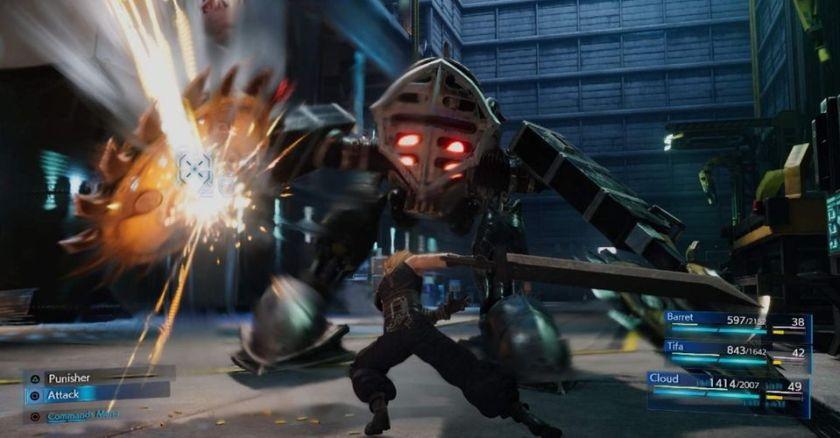 Final Fantasy 7 Remake Combat Adalah Sebuah Seni