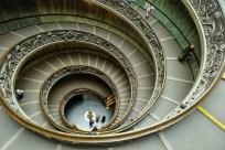 Открыточный вид Ватиканского Музея