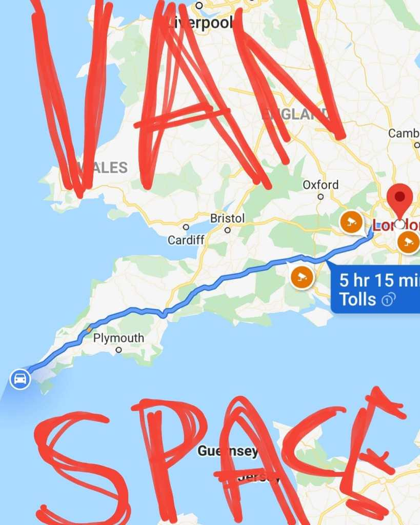 Space in our van