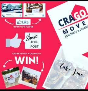 Cross-promo Crago Moves & Cake JMO