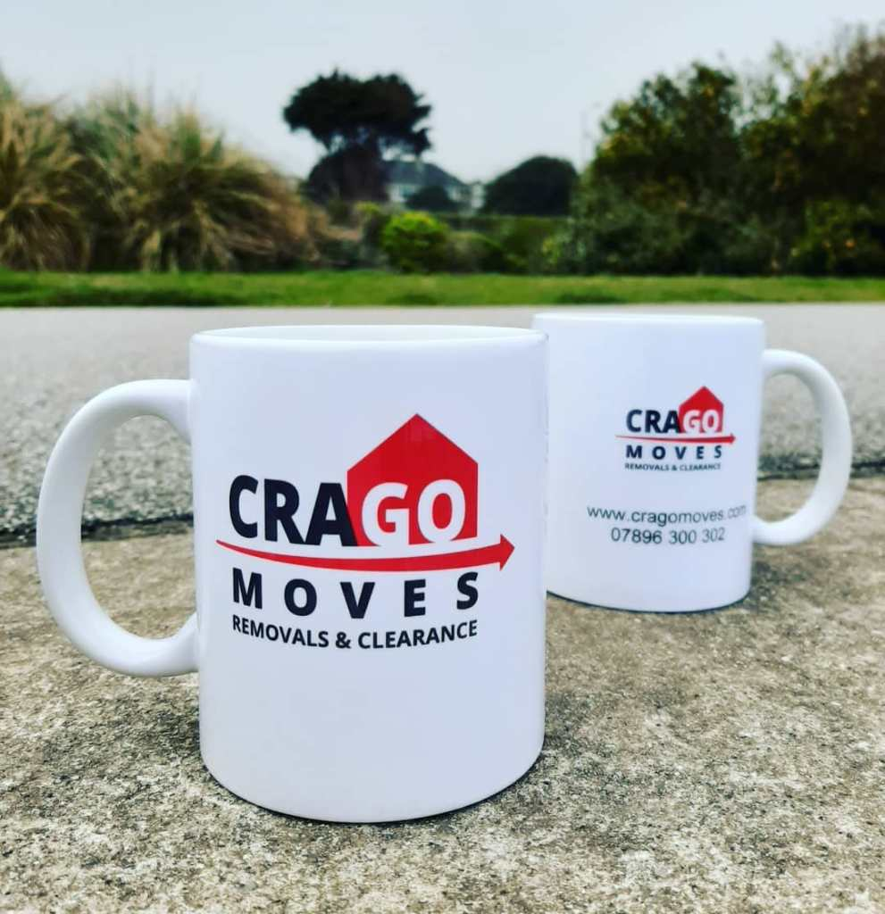 Crago Moves mugs