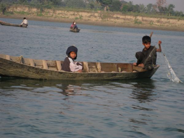 deux petits pêcheurs