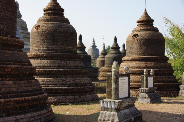 couronne de stupas