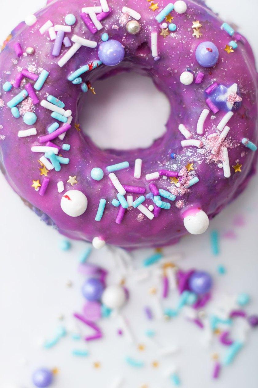 Recipe: Unicorn Sprinkle Doughnuts | Peony + Ink
