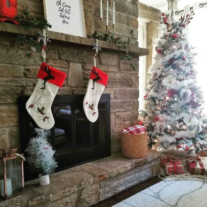 Winter Wonderful Christmas Flocked Tree