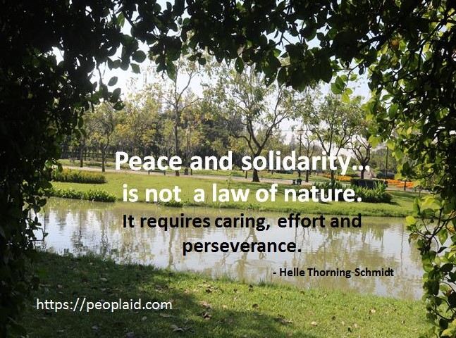 Peace and Solidarity
