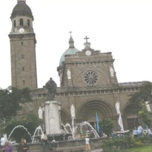 Manila Cathedral in Intramuros