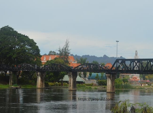 Bridge over the River Kwai in Kanchanaburi Province
