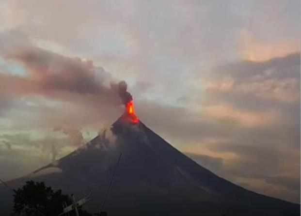 Mt. Mayon Eruption
