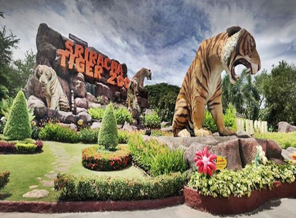 Sriracha Tiger Zoo in Chonburi
