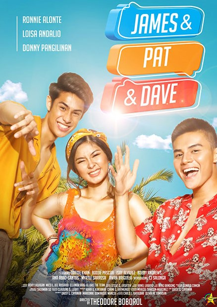 James and Pat and Dave Movie Poster