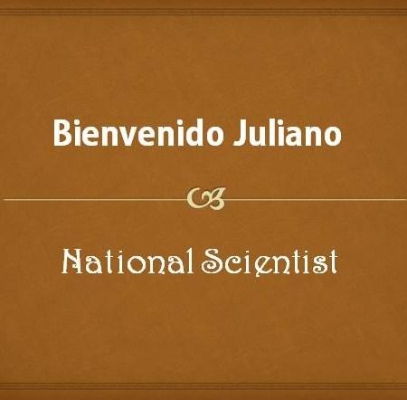 Bienvenido Juliano