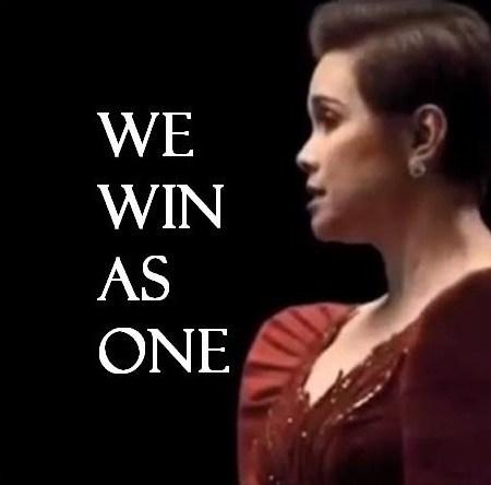 We Win As One by Lea Salonga