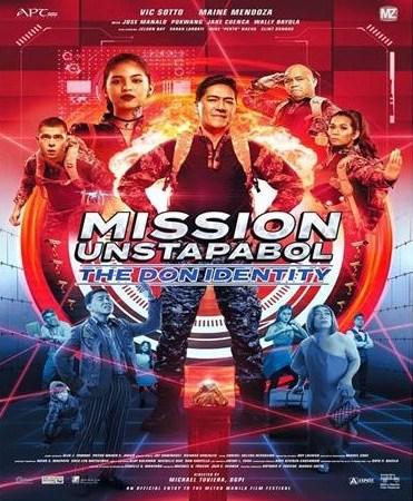 Mission Unstapabol The Don Identity Movie Poster