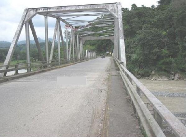Bridge across the Ibulao River