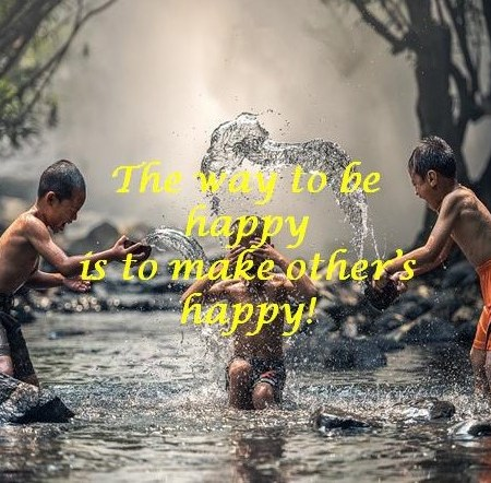 How to be Happy: Tip no. 1