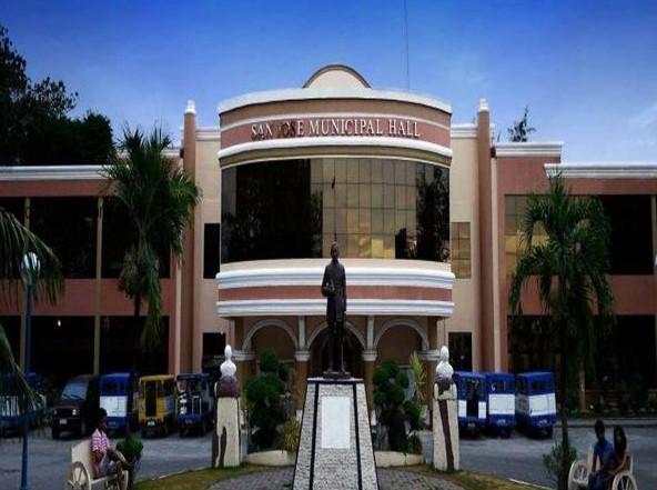 San Jose Municipal Hall in Occidental Mindoro