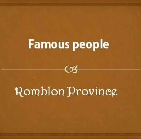 Famous People from Romblon Province