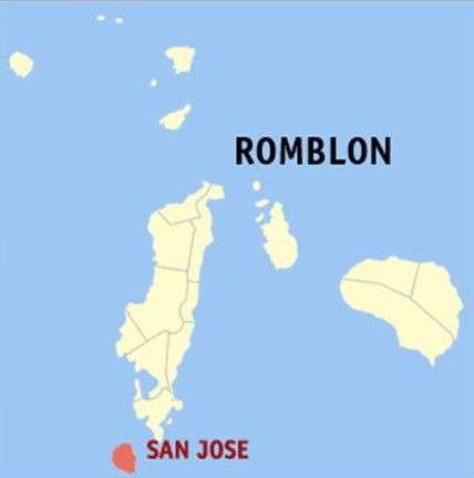 San Jose Romblon Location