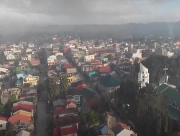 Aerial View of Lopez Quezon