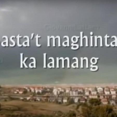 Basta't Maghinty Ka Lamang