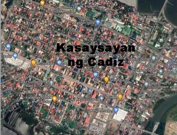 Cadiz City History in Tagalog