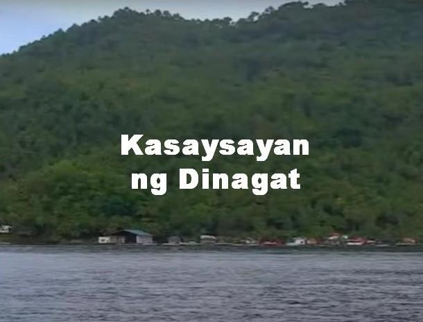 Dinagat Province History in Tagalog