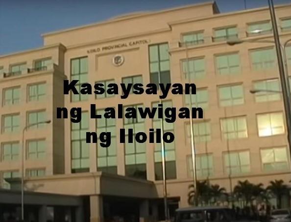 Iloilo Province History in Tagalog