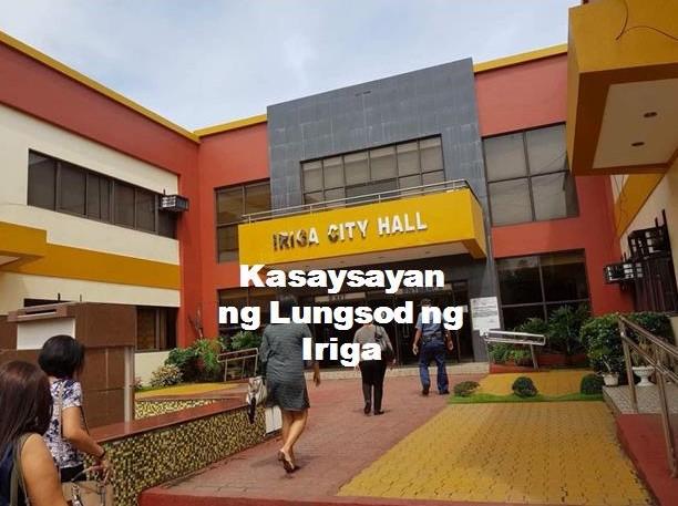 Iriga City History in Tagalog