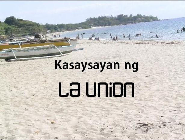La union History Tagalog