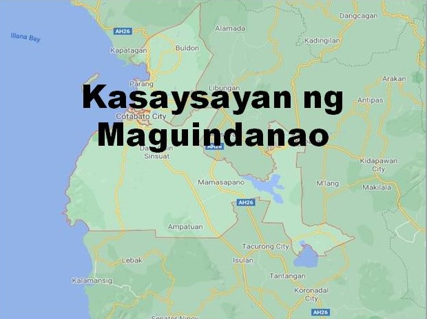 Maguindanao History in Tagalog