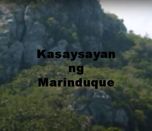 Marinduque History in Tagalog
