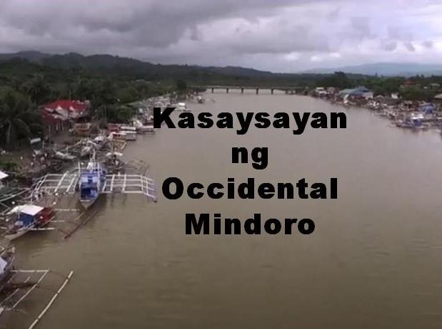Occidental Mindoro History in Tagalog