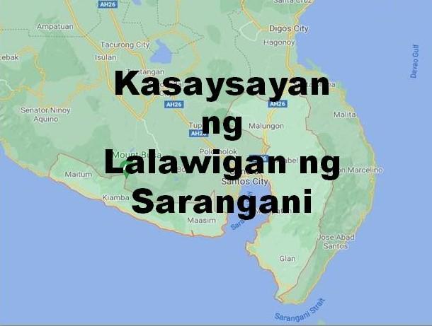 Sarangani Province History in Tagalog